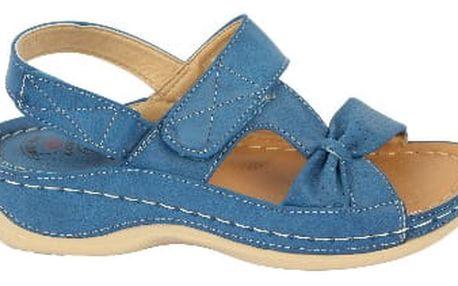 Dámské zdravotní sandále KOKA 1 tmavě modré