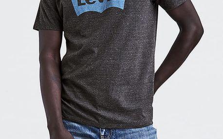 Tričko LEVI'S Housemark Graphic Tee ssnl Color Hm Dar Černá