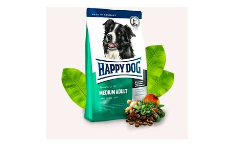 HAPPY DOG MEDIUM Adult 12,5 kg + 2 kg Zdarma