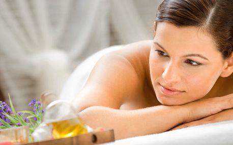 90minutová levandulová aroma masáž