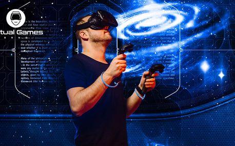 1 nebo 2 hodiny virtuální reality v centru Brna