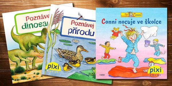 10 nebo 26 naučných Pixi knížek pro děti