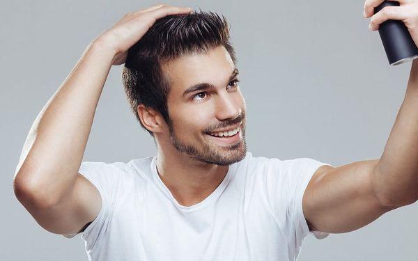 Pánský střih včetně masáže hlavy
