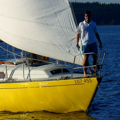 Projížďka na jachtě s kapitánem