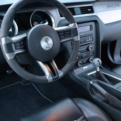 Jízda ve Fordu Mustang GT500 SHELBY + sprint na letišti