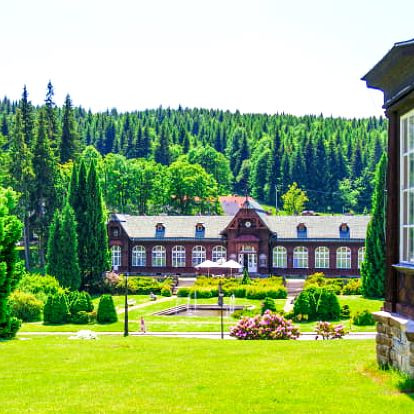 Jeseníky: Karlova Studánka v Hotelu Džbán