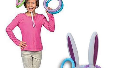 Zábavné nafukovací uši Rabbit Game