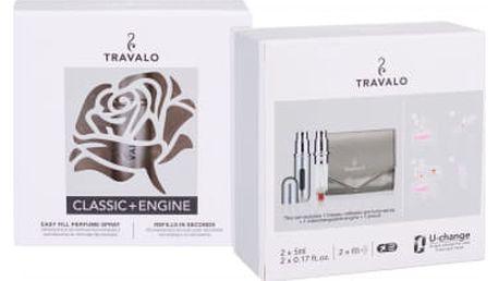 Travalo Travalo Classic HD dárková kazeta unisex plnitelný flakón 2x5ml + pouzdro