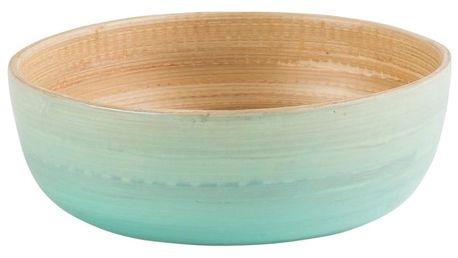 Modrá bambusová mísa Navigate Rebu Ombre, ⌀ 15 cm