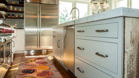 Vysoce odolný kuchyňský koberec Webtappeti Spices Market,60x140cm