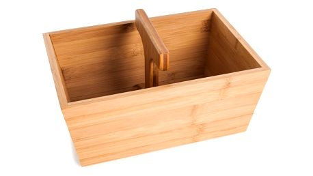 Bambusový košík na pečivo Bambum Bucket, 22 x 29 cm