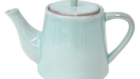 Tyrkysová keramická konvice na čaj Costa Nova 1000 ml