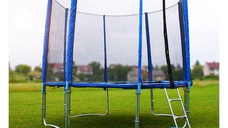 GoodJump 4UPVC Trampolína 400 cm s ochrannou sítí + žebřík