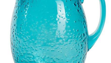 Modrý plastový džbán Navigate Bubble, 3 l