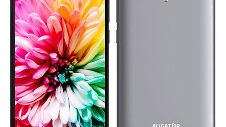 Mobilní telefon Aligator S5062 Dual SIM (AS5062GY) šedý