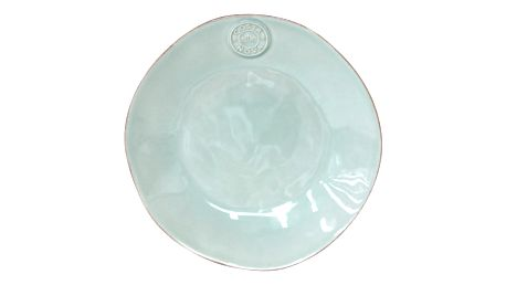 Tyrkysový kameninový dezertní talíř Costa Nova,Ø21 cm