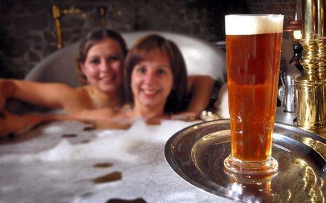 Relax v pivních lázních pro dva