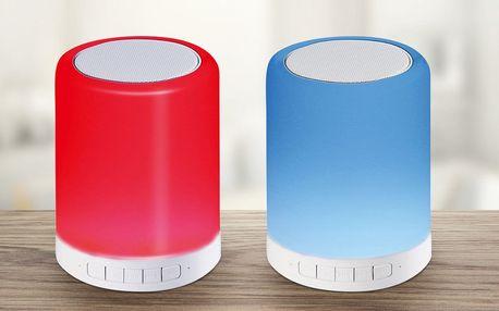 Bluetooth reproduktor s LED lampičkou a změnou barev