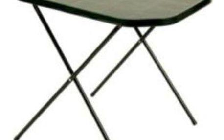 DAJAR 7151 Stůl camping 53 x 70 cm zelený