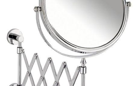 Kosmetické zrcátko Power-Loc Elegance s teleskopickým ramenem, zvětšení x3, WENKO