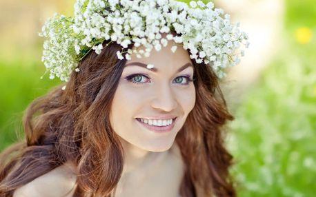 Jarní relaxační kosmetické ošetření pleti s masáží