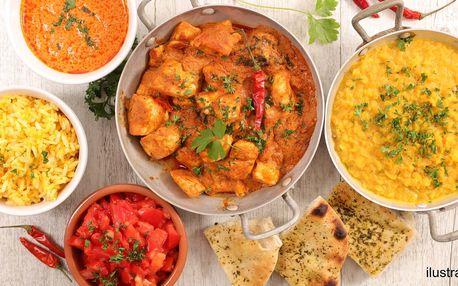 Dárkový voucher na cokoli z indické restaurace