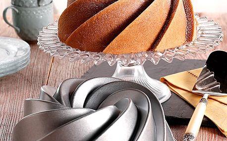Forma na bábovku ve stříbrné barvě Nordic Ware Rondo