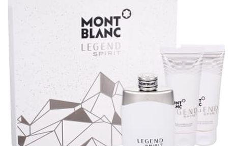 Montblanc Legend Spirit dárková kazeta pro muže toaletní voda 100 ml + balzám po holení 100 ml + sprchový gel 100 ml