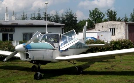 Vyhlídkové lety pro 3 osoby z letiště Podhořany