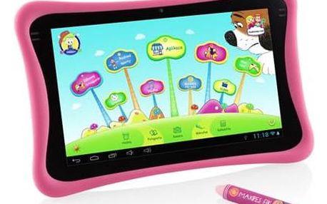 "GoGEN Maxipes Fík MAXPAD9 G4P 9"", 8 GB, WF, Android 4.4 (MAXPAD9G4P) růžový"