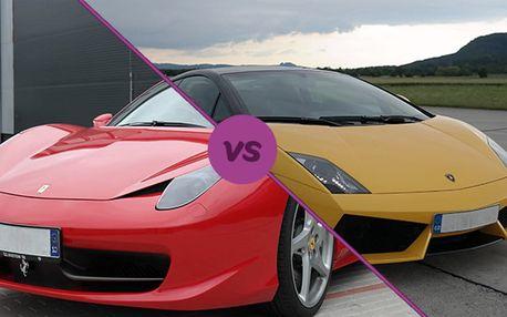 Lamborghini Gallardo vs. Ferrari 458 Italia