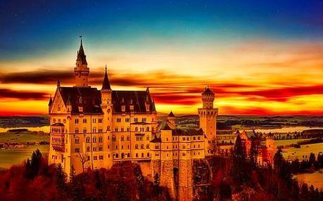1denní poznávací zájezd pro 1 osobu - zámek Neuschwanstein, jezero Chiemsee a Mnichov.