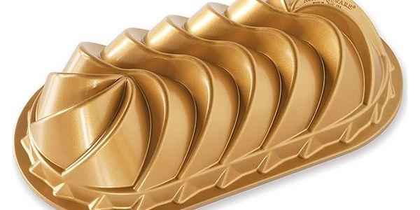 Forma na chlebíček ve zlaté barvě Nordic Ware Rondo Heritage