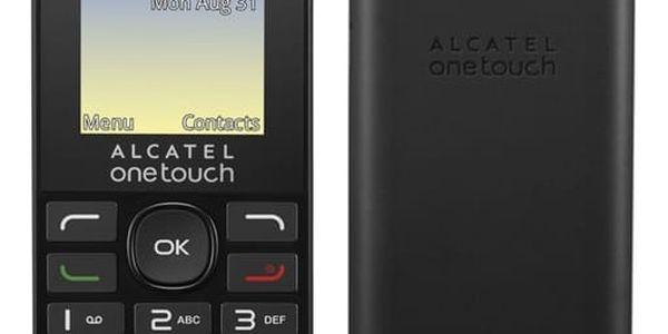 Mobilní telefon ALCATEL 1016G (1016G-3AALCZ1) černý Software F-Secure SAFE, 3 zařízení / 6 měsíců v hodnotě 979 Kč