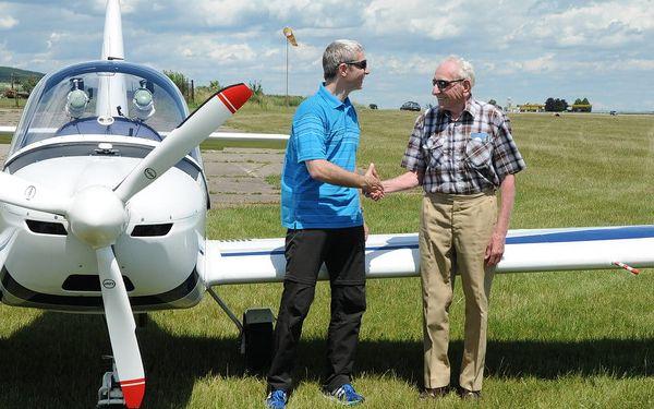 Pilotem malého letounu na zkoušku5