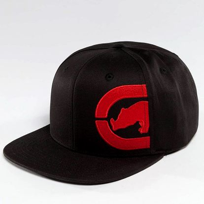 Ecko Unltd. / Snapback Cap Ushi in black Adjustable
