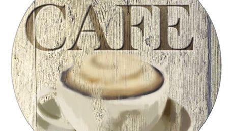 Skleněná podložka pod hrnec Wenko Café