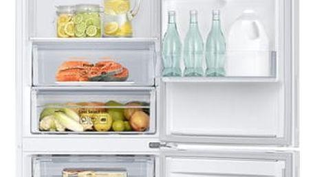 Kombinace chladničky s mrazničkou Samsung RB37J500MWW/EF bílá