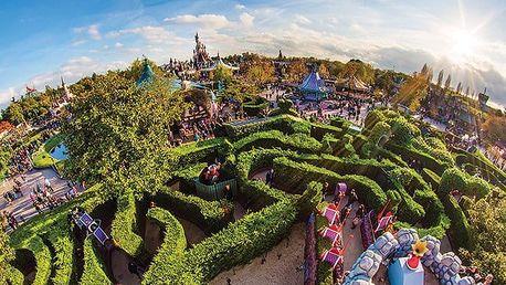 3denní zájezd pro 1 osobu do Disneylandu a Studií Walta Disneyho ve Francii