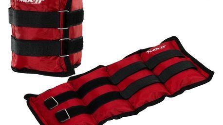 MOVIT 31949 zátěžové manžety, 2 x 2,0 kg červená