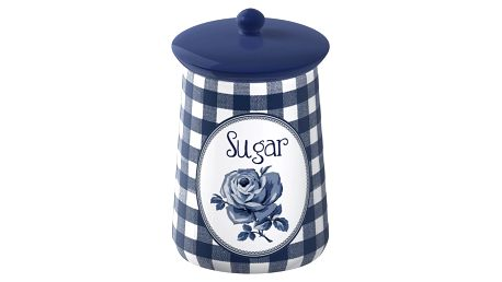 Porcelánová dóza na cukr Creative Tops Vintage Indigo