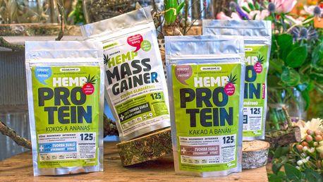 Konopný protein: posílení organismu i růst svalů
