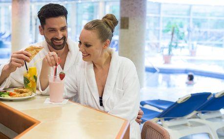 Termály a TOP wellness v Hotelu Visegrad Superior**** s polopenzí