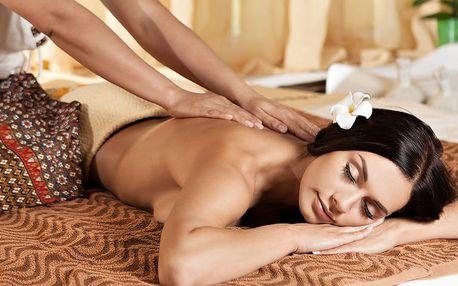 Hodinová masáž se zábalem z mořských řas