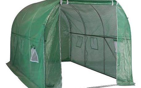 Fóliovník 300 x 200 x 200 cm, zelená