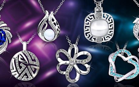 Třpytivé šperky s krystaly Swarovski a zirkony