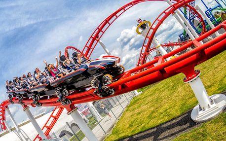 EnergyLandia – 2 dny v TOP zábavním rodinném parku v Polsku s volným vstupem na 70 atrakcí