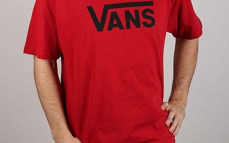 Tričko Vans Mn Classic Chili Pepper Červená