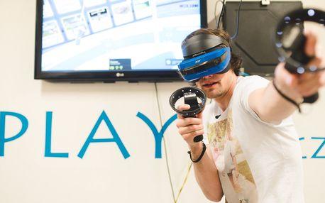 Hodina ve virtuální realitě pro 1 až 5 hráčů