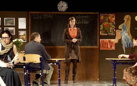 Vstupenka na divadelní představení Úča musí pryč